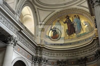 Intérieur du Panthéon de Paris
