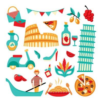 Posters Italie ensemble décoratif