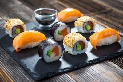 Posters Japonaise, fruits de mer, sushi