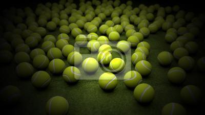 Jaune balle de tennis