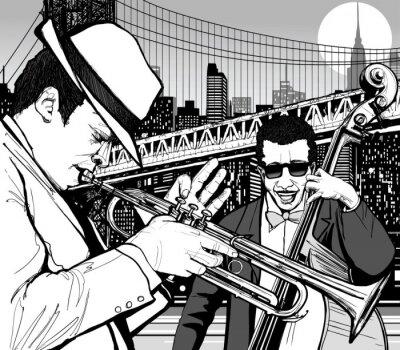 Posters jazz à New York