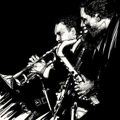 Posters jazz laiton musicien