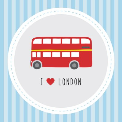 Posters Je adore London12
