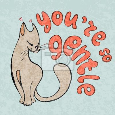 Dessin D Animaux Mignon je taime carte, salutations avec des animaux mignons, dessinant