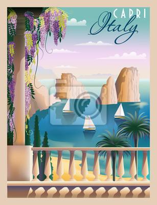 Journée d'été ensoleillée en Italie