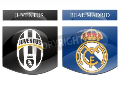 Posters Juventus vs Real Madrid