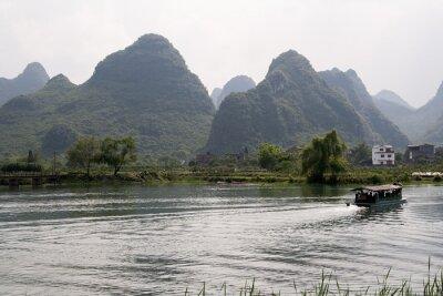 Posters Krajobraz okolic Yangshuo