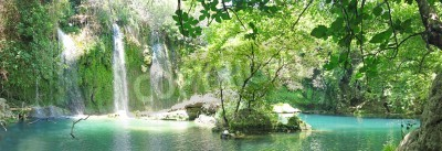 Posters Kursunlu Waterfall panorama en Turquie de parc national