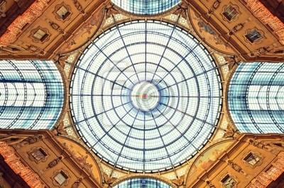 La Galleria Vittorio Emanuele II à Milan.