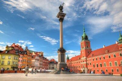 Posters La vieille ville de Varsovie, Pologne