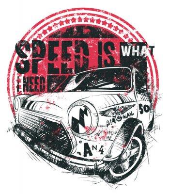 Posters La vitesse est ce dont j'ai besoin