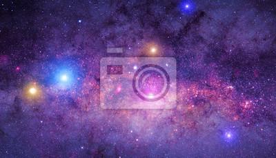 Posters Lactée mosaïque façon.