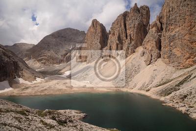 Lago d'Antermoia Catinaccio Dolomites