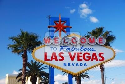 Las Vegas signe de bienvenue
