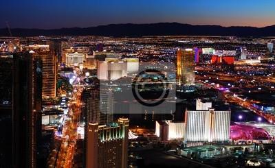 Las Vegas Strip vue aérienne