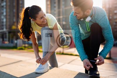Posters Le jogging et la course à pied sont des activités récréatives