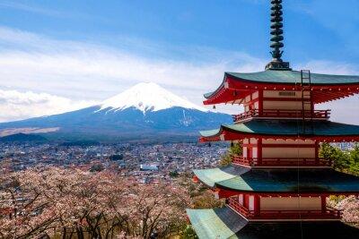 Posters Le mont Fuji, au Japon