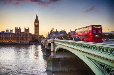 Posters Le pont de Westminster