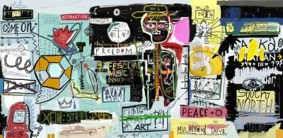 Posters Le tableau, qui contient une variété de personnages