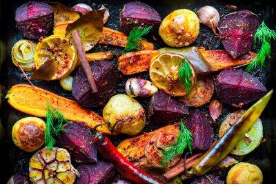 Posters Légumes grillés