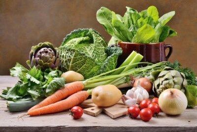Posters Légumes mélangés