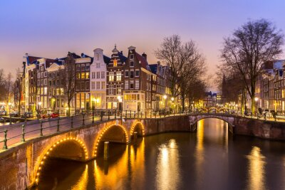 Posters Les canaux d'Amsterdam