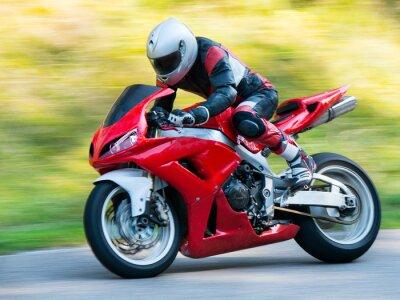 Posters Les courses de motos