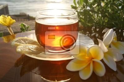 Lever de soleil dans la tasse