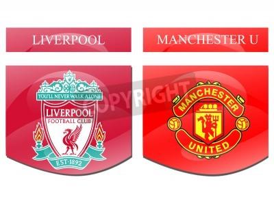 Posters Liverpool vs Manchester U