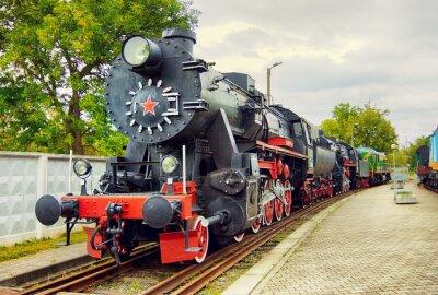 Posters Locomotive à vapeur Vintage