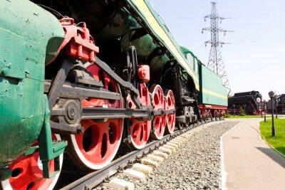 Posters locomotive de chemin de fer