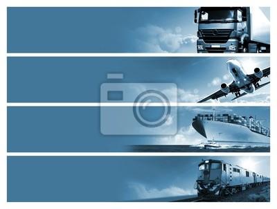Posters Logistique fond