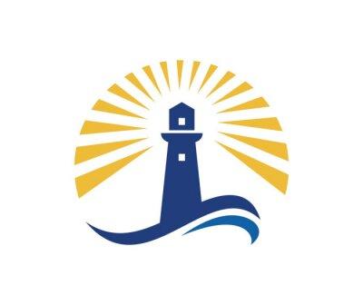 Posters Logo du phare