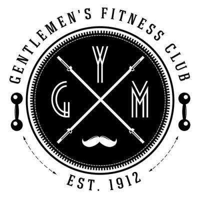 Posters Logo vintage de gymnase