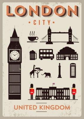 Posters London City Conception d'affiche