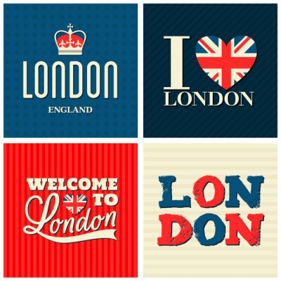 Posters Londres Cartes Collection