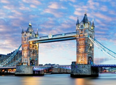 Posters Londres, Tower Bridge