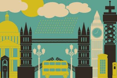 Posters Londres Voir