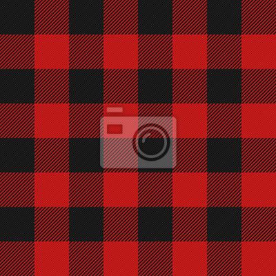 Posters Lumberjack, plaid, seamless, modèle
