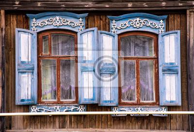 Maison typique russe
