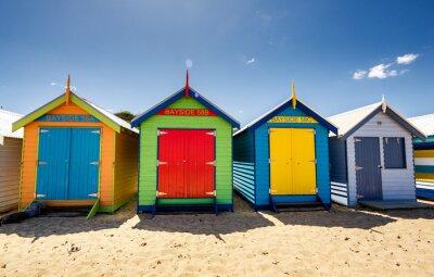 Posters Maisons plage de Brighton Bay