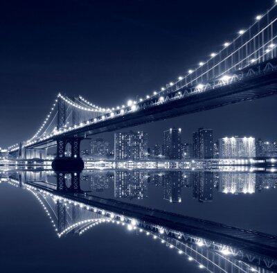 Posters Manhattan Bridge et Manhattan la nuit