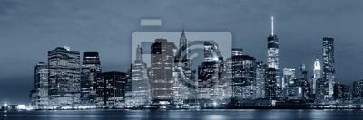 Manhattan dans la nuit