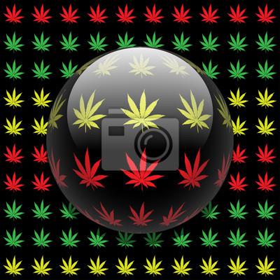 Posters Marijuana fond