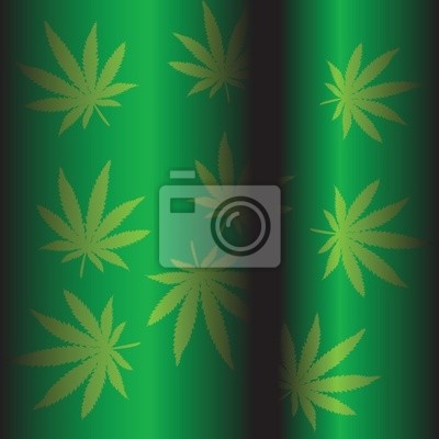 Marijuana fond vert