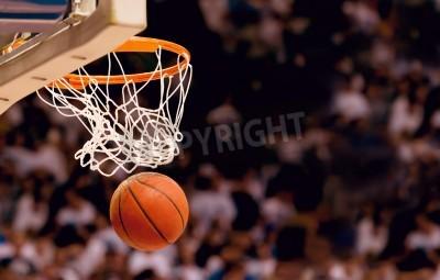 Posters Marquant les points gagnants lors d'un match de basket-ball