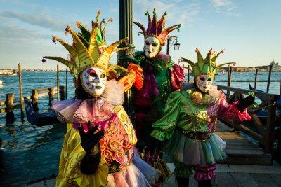 Posters Maschera Carnevale di Venezia