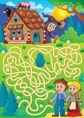Posters Maze 30 avec thème Hansel et Gretel