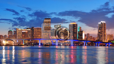 Miami scène de nuit