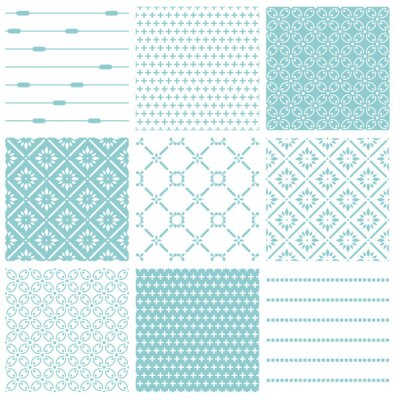 Posters Milieux Seamless Collection - Tile Vintage